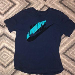 Blue Nike T-shirt!